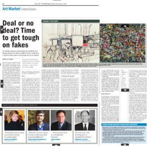 Knoedler & Co scandalo news paper