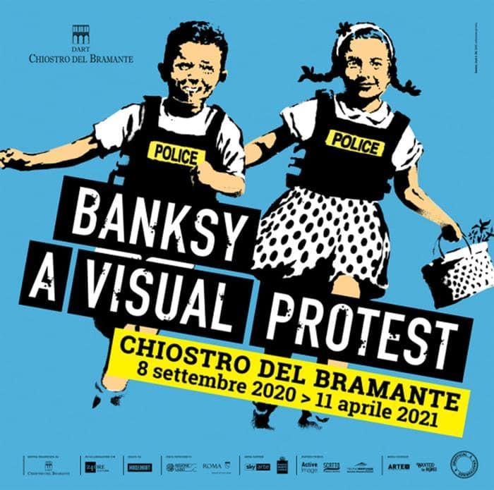MOSTRE IN CORSO: ``Banksy - A Visual Protest``