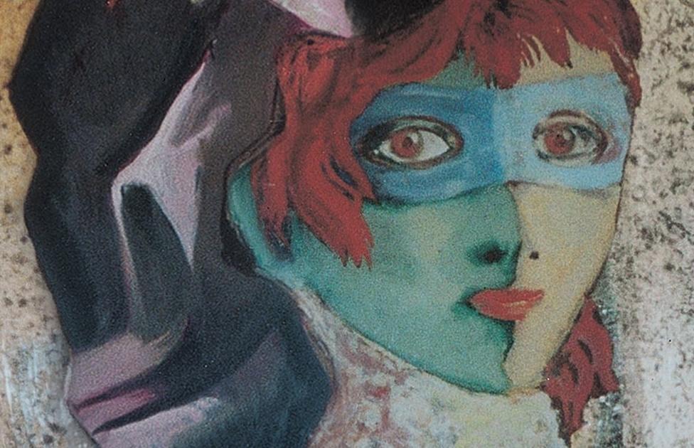 Giò Ponti, ritratto di Edina Altara, 1950 circa